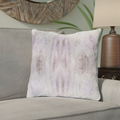 Antram Silk Throw Pillow Size: 22 H x 22 W x 4 D, Color: Purple/Neutral