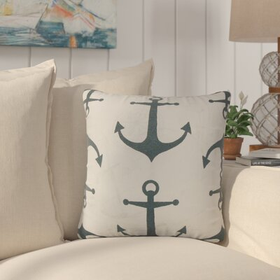 Callinan Coastal Throw Pillow Color: Navy