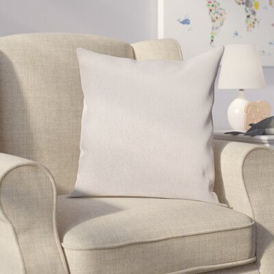 Ora Faux Pillow Cover Color: Cream