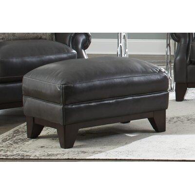 Cioffi Leather Ottoman