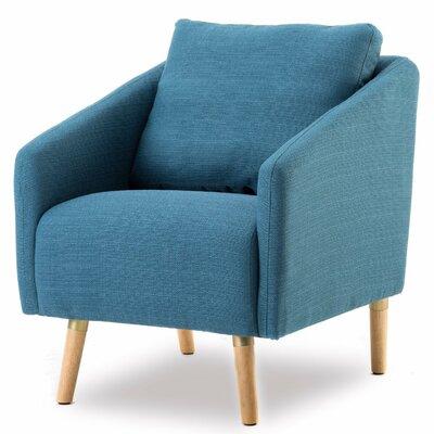 Dewitt Armchair Upholstery: Navy