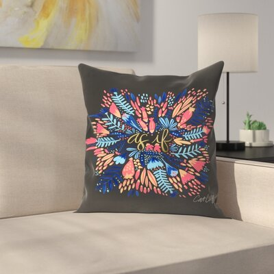 Cat Coquillette Asif Throw Pillow Size: 18 x 18