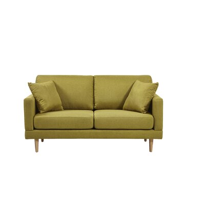 Cote Loveseat Upholstery: Lime
