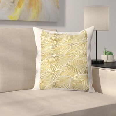 Cat Coquillette Tropical  Throw Pillow Size: 18 x 18