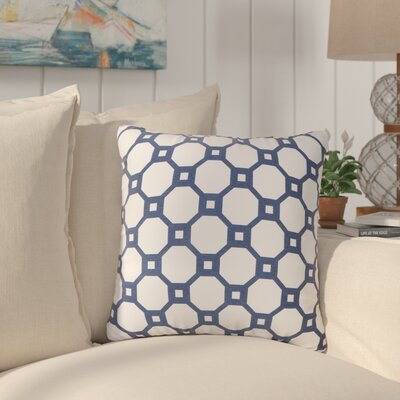 Vinita Throw Pillow Color: Marine Blue