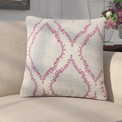 Ilario Ikat Cotton Throw Pillow Color: Gray