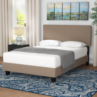 Fulgham Platform Bed Size: Queen, Color: Taupe