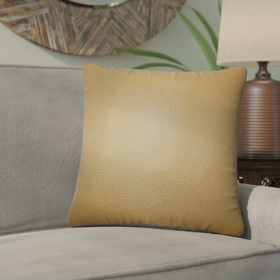 Xavier Solid Cotton Throw Pillow