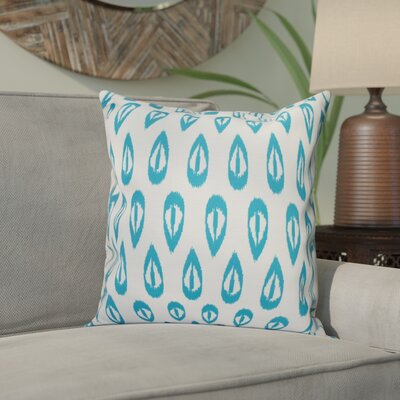 Bridgehampton Outdoor Throw Pillow Size: 20 H x 20 W, Color: Turquoise