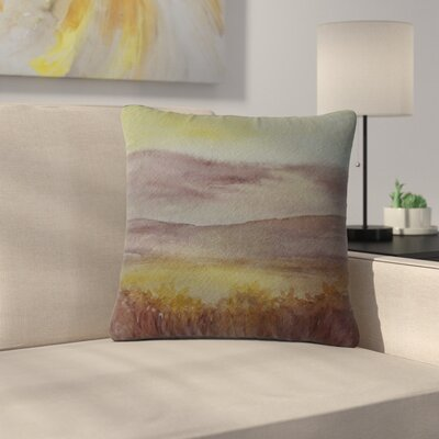 Cyndi Steen Sunset Nature Outdoor Throw Pillow Size: 16 H x 16 W x 5 D