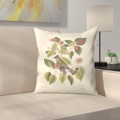 The Chatterer Throw Pillow Size: 20 x 20