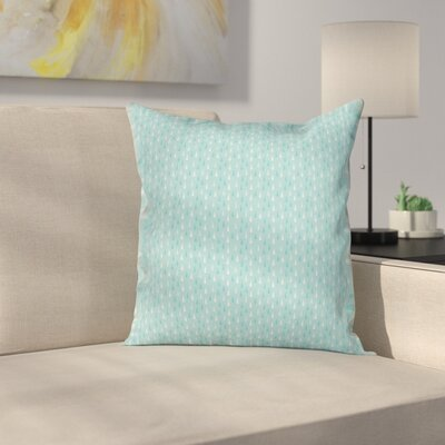 Raindrops Fall Season Art Square Pillow Cover Size: 16 x 16