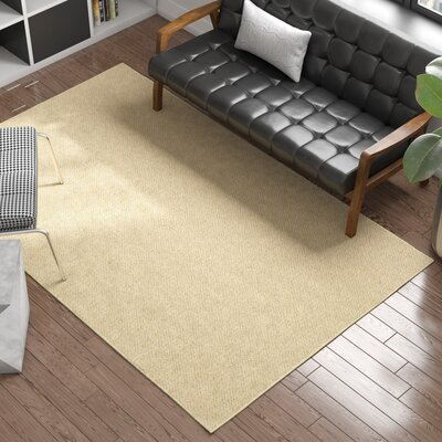 Cannon Blonde Area Rug Rug Size: 6 x 9