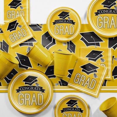 Graduation School Party Paper/Plastic Supplies Kit DTCSBYLW2C