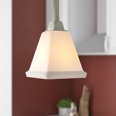Aleshire 1-Light Mini Pendant Finish: Brushed Nickel