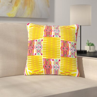 Miranda Mol Cool Summer Outdoor Throw Pillow Size: 16 H x 16 W x 5 D