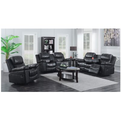 Ulmer 3 Piece Living Room Set