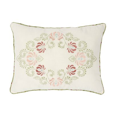 Kopec Embroidered Cotton Throw Pillow