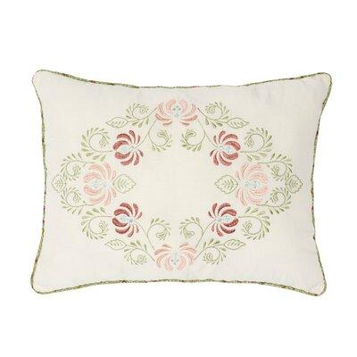 Kopec Embroidered Cotton Throw Pillow