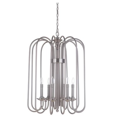 Ellingson 6-Light Candle Style Chandelier