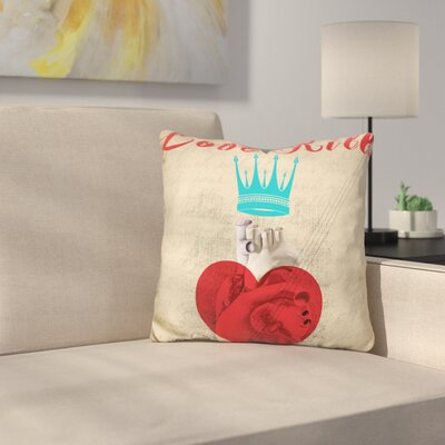 Love Kills Throw Pillow