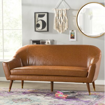 Elvie Sofa Upholstery: Camel