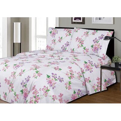 Dahlberg Printed Microfiber Sheet Set Size: King