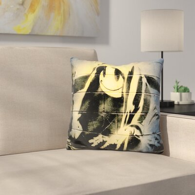 Smiley Reaper Throw Pillow