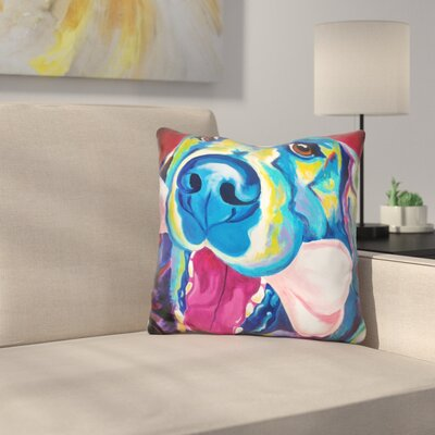My Favorite Bone Throw Pillow Color: Blue