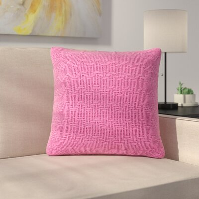 Donald Throw Pillow (Set of 2) Color: Pink