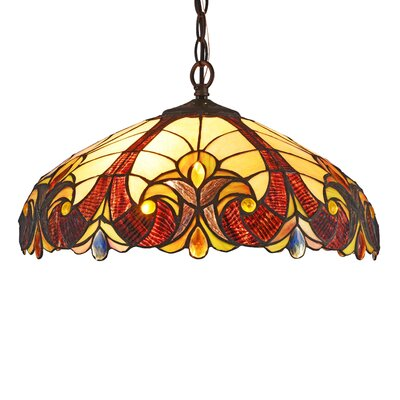 Queens Boulevard 2-Light Inverted Pendant