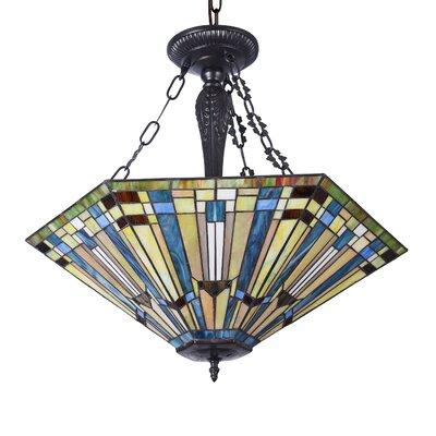 Quayle 3-Light Bowl Pendant