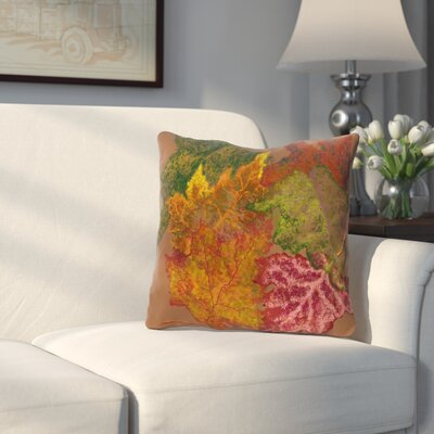Byrnedale Autumn Outdoor Throw Pillow Color: Brown