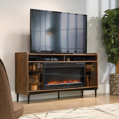 Gutierrez 60 TV Stand with Fireplace