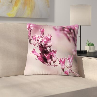 Pia Schneider Rose Spangles Pattern Outdoor Throw Pillow Size: 16 H x 16 W x 5 D