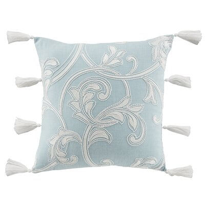Willa Square Cotton Throw Pillow
