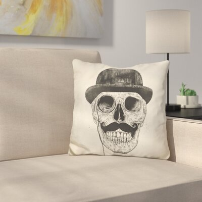 Gentlemen Never Die Throw Pillow