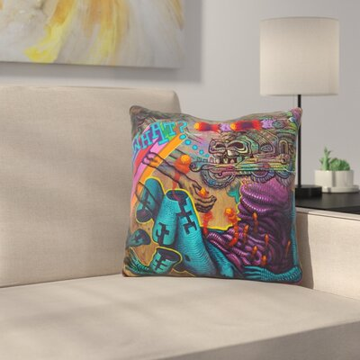 What Collabo with Jason Botkin Throw Pillow