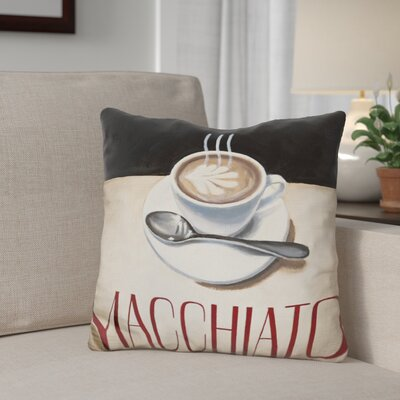 Gerardo Cafe Moderne Throw Pillow