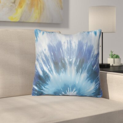 Calila Square Throw Pillow Size: 18 H x 18 W x 4 D, Color: Blue