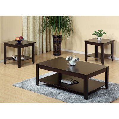 Leafwood 3 Piece Coffee Table Set