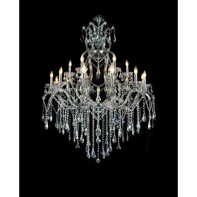 Abby 19-Light Candle-Style Chandelier