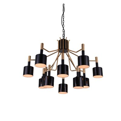 Corna 12-Light Sputnik Chandelier