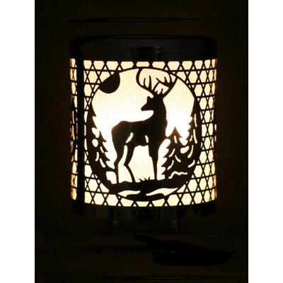 Christmas Deer Cutout Night Light
