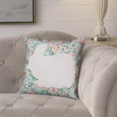 Courson Rabbit Throw Pillow