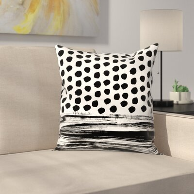 Charlotte Winter Zoe Throw Pillow Size: 14 x 14