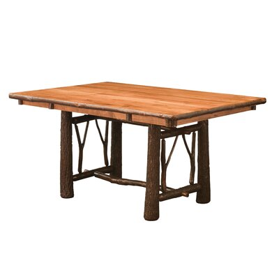 Quinney Twig Trestle Dining Table