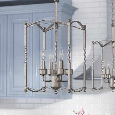 Ivie 4-Light Foyer Pendant