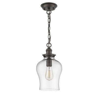 Wendel Transitional 1-Light Mini Pendant