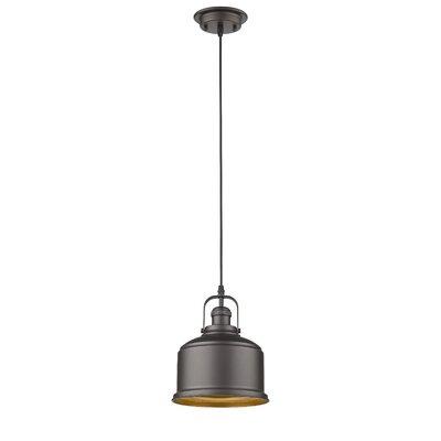 Bouvet Industrial 1-Light Mini Pendant